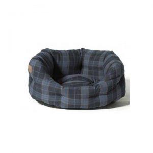 Lumberjack-deluxe-slumber-bed-navy-grey